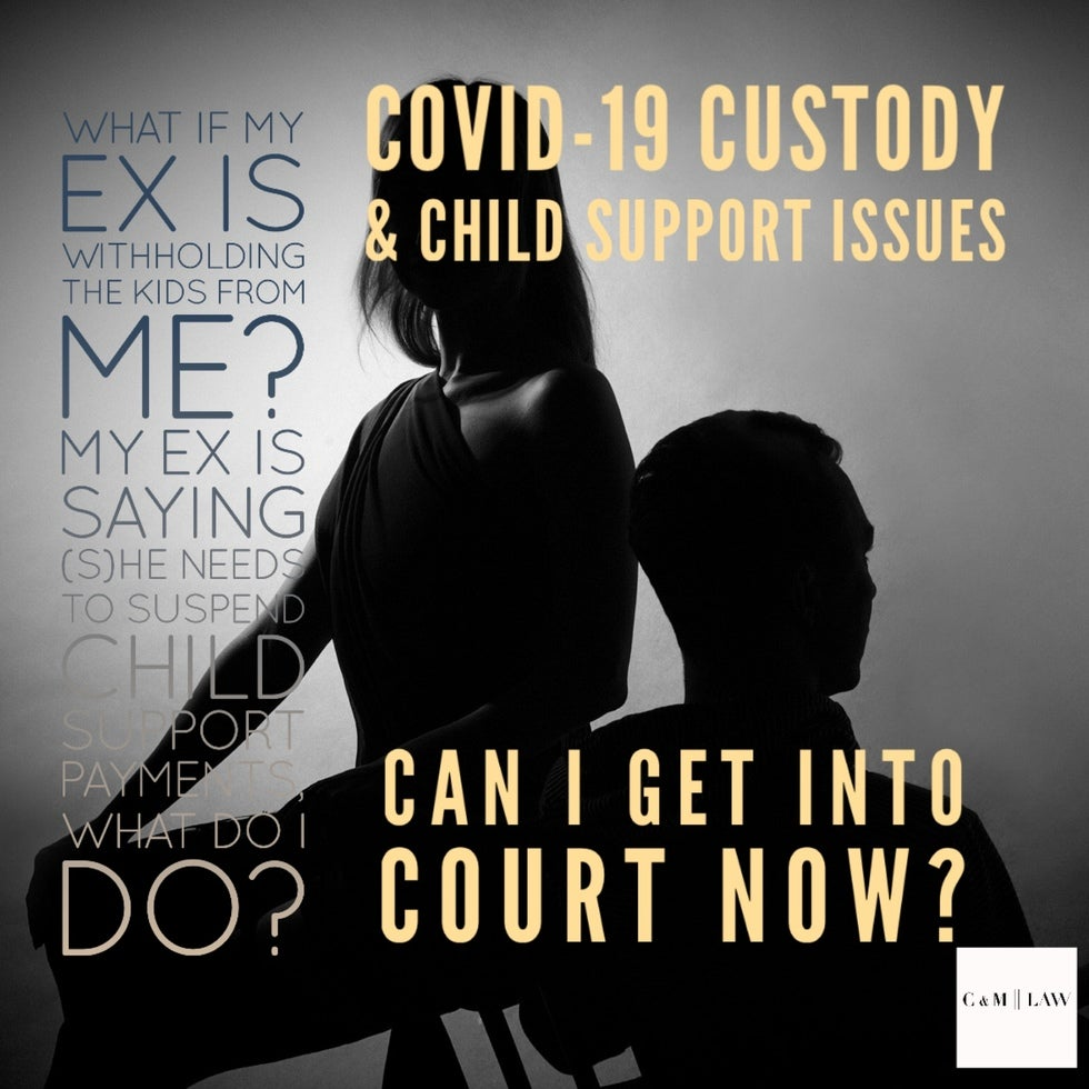 COVID-19 Custody, Visitation, Child Support, and Family Law Issues
