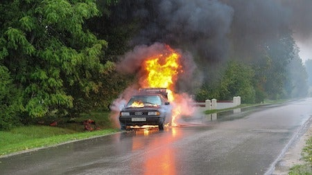 Different Levels of New York Car Accident Burn Injuries