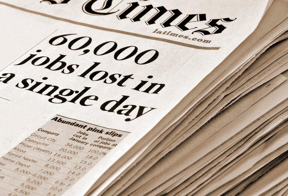 60,000 lose their jobs