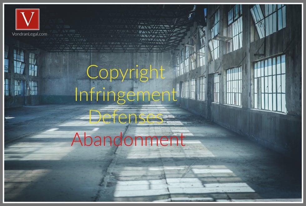intent to abandon copyright, san jose, san francisco, copyright law firm