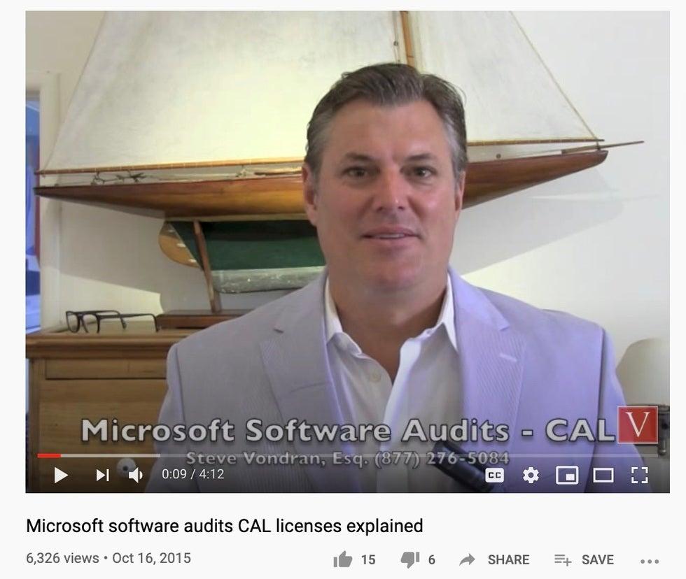 BSA software audit letters