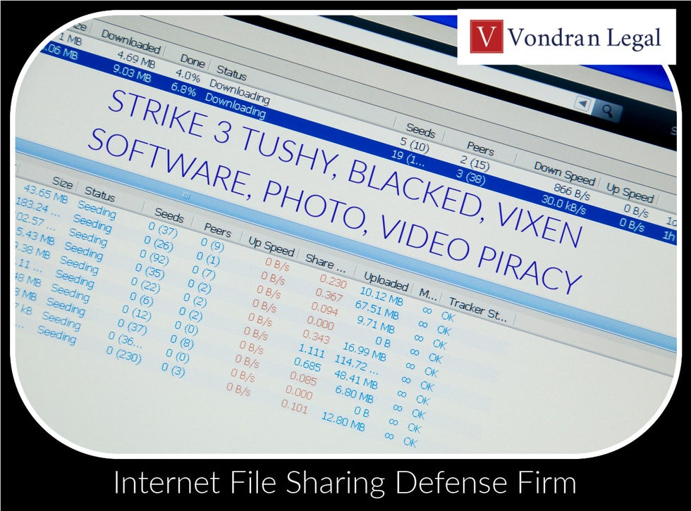P2P FILE SHARING LAW FIRM