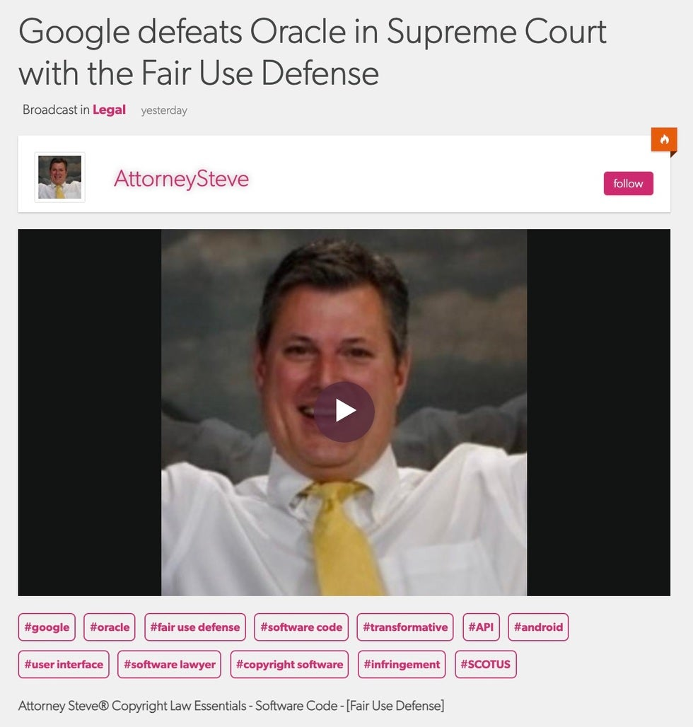 Software litigation lawyer