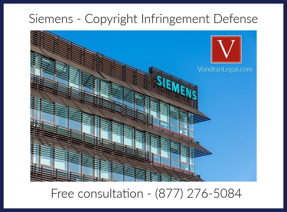 siemens software defense law firm