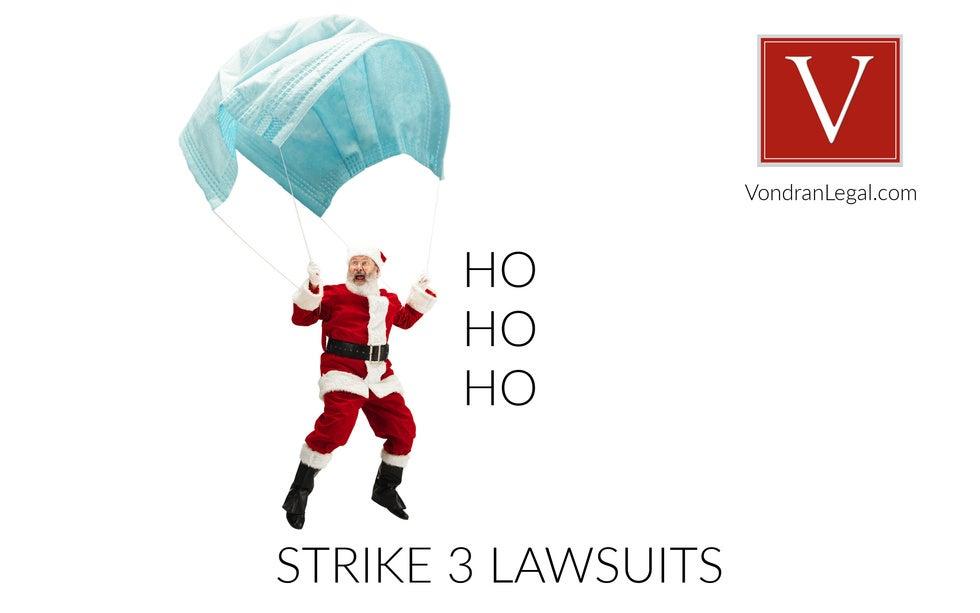 new Strike 3 lawsuits