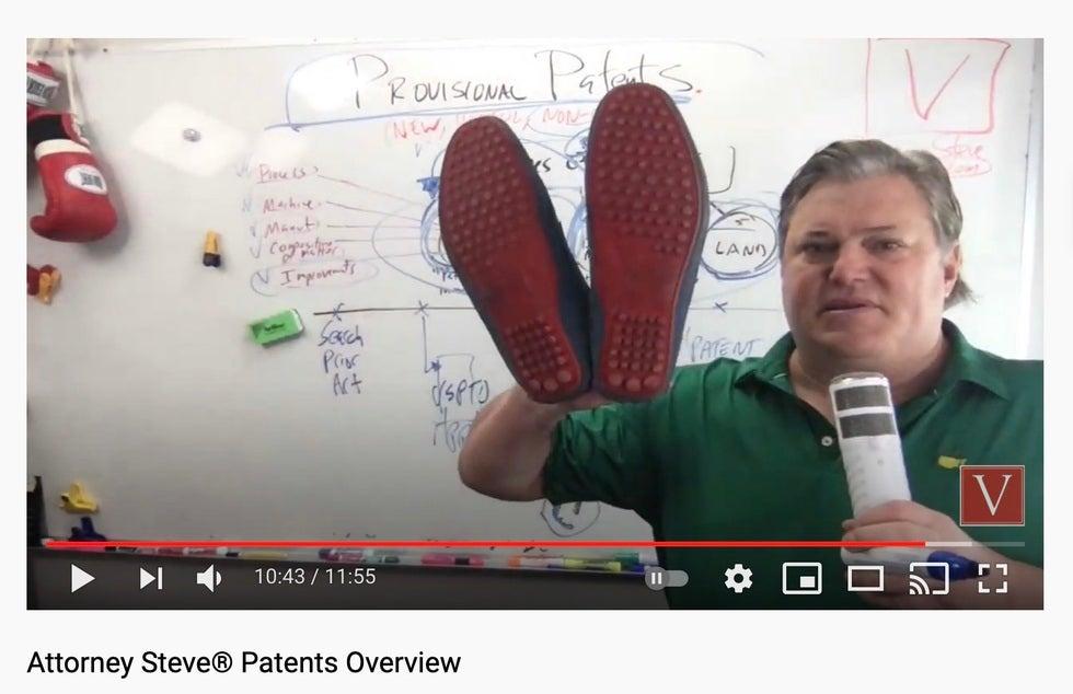 California provisional patent