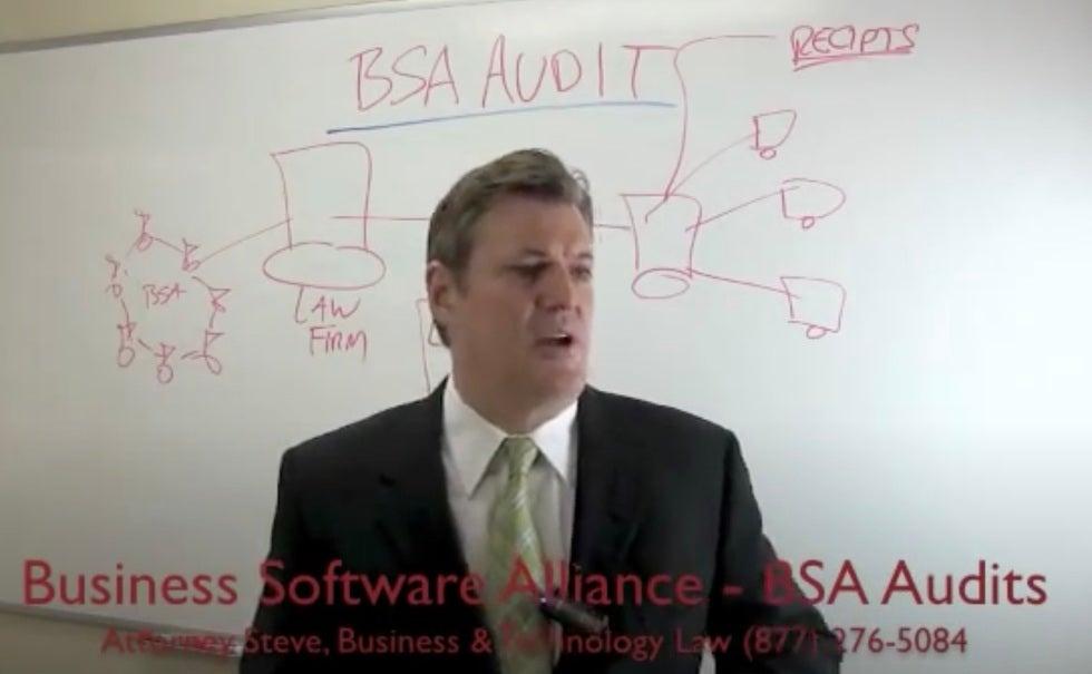 BSA audit letter