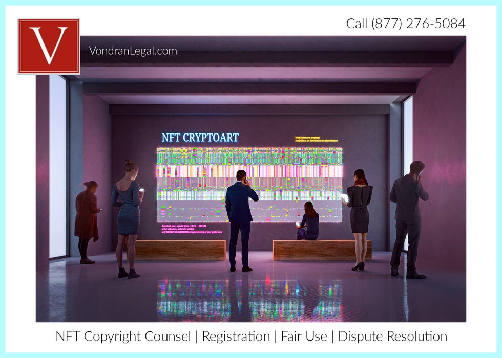 NFT copyright attorney