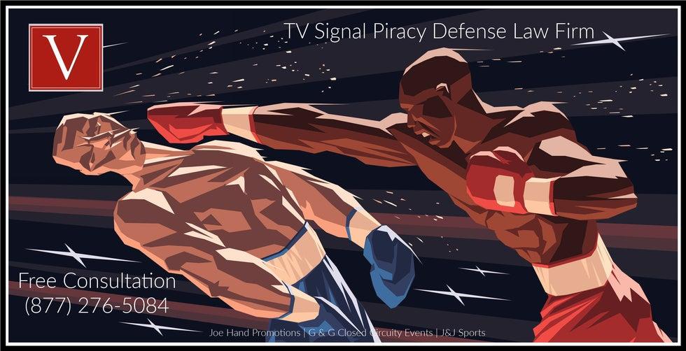 TV signal piracy attorney