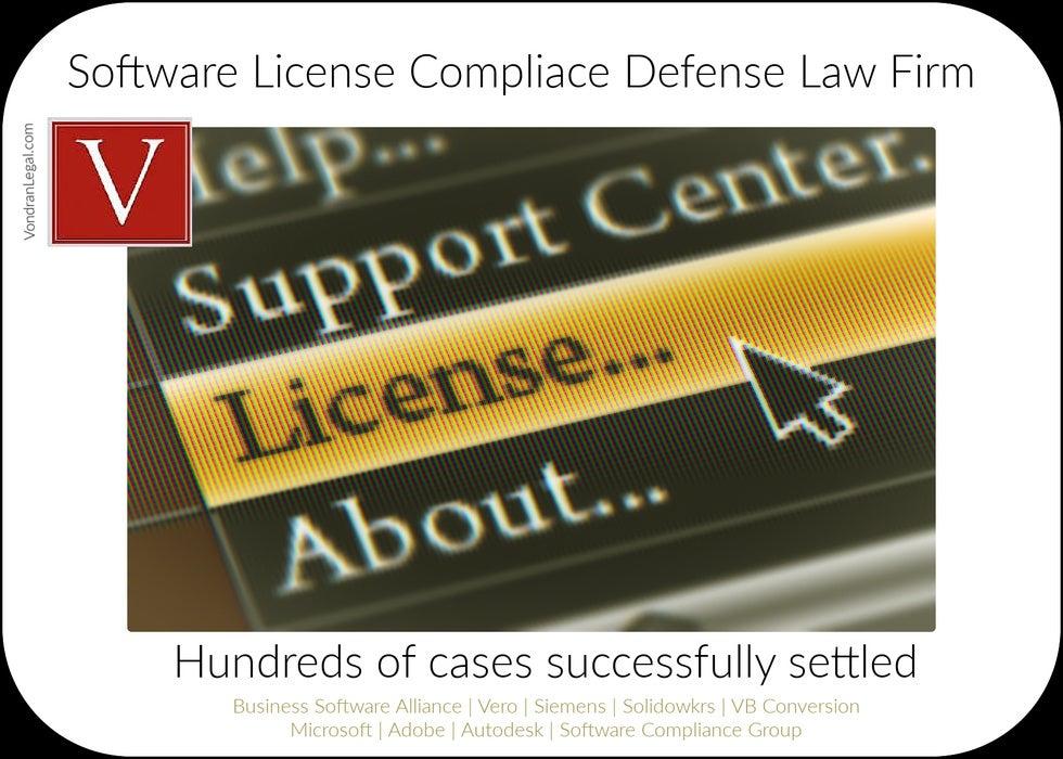 computer license dropdown