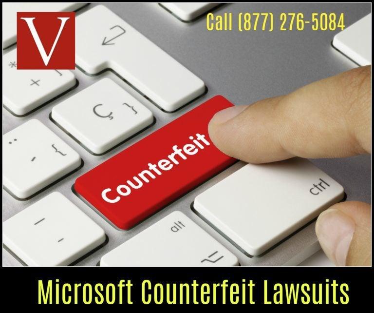 Microsoft software piracy BSA defense lawyer