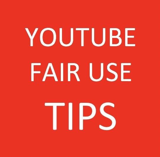 fair use legal survival tips
