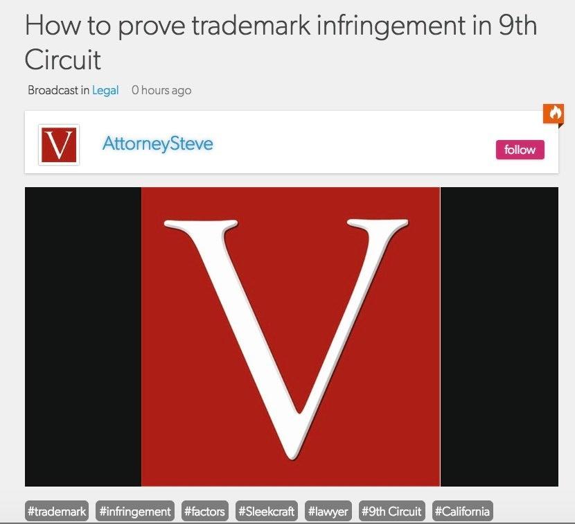 trademark infringement attorney SF