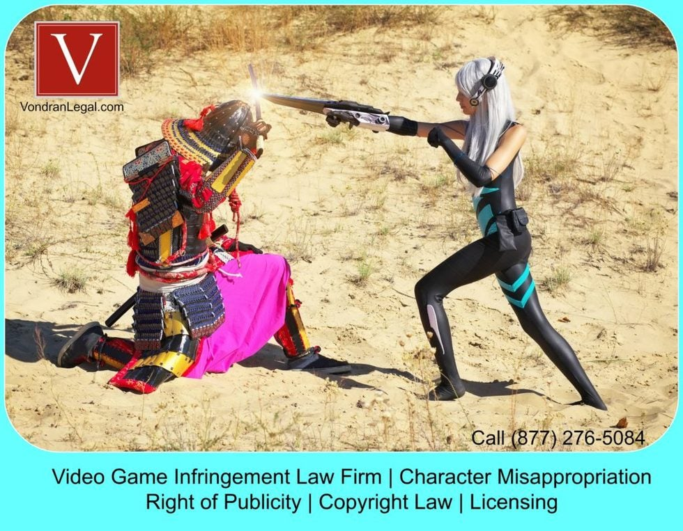 Video game infringement lawyer ND California