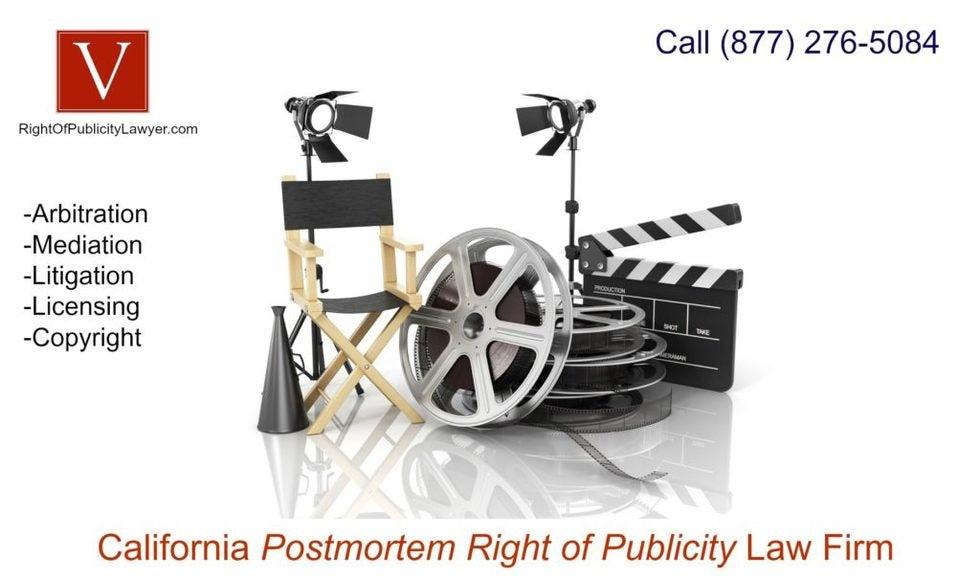 california right of publicity attorney