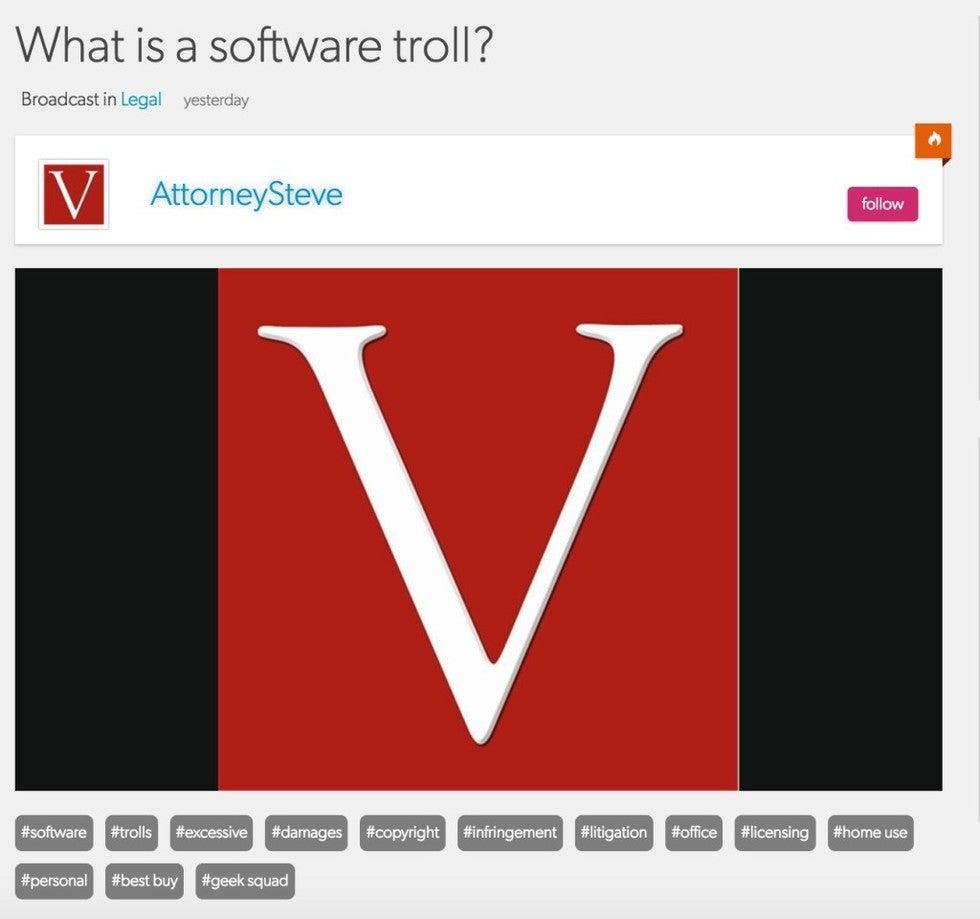 software piracy defense lawyer