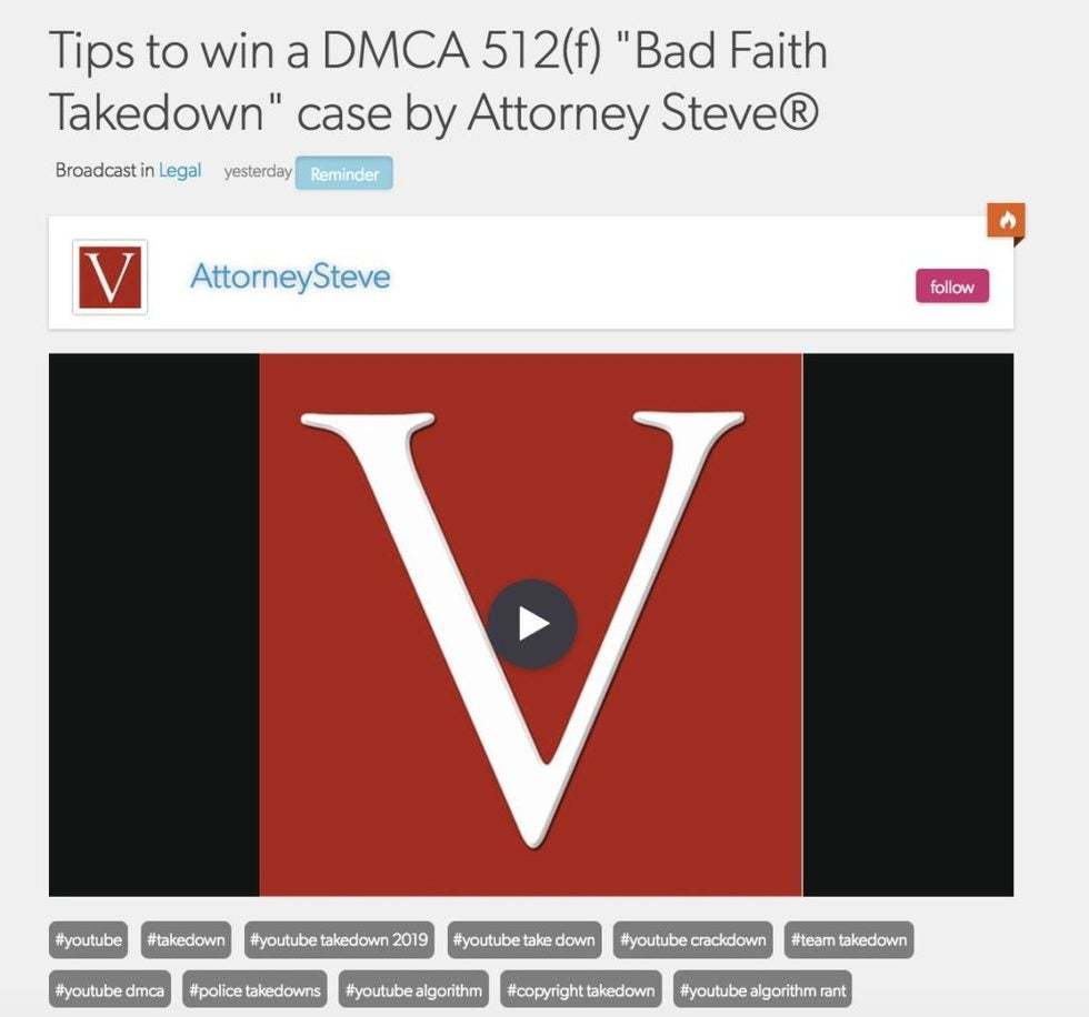 dmca bully youtube