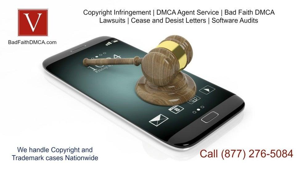 dmca takedown lawyer
