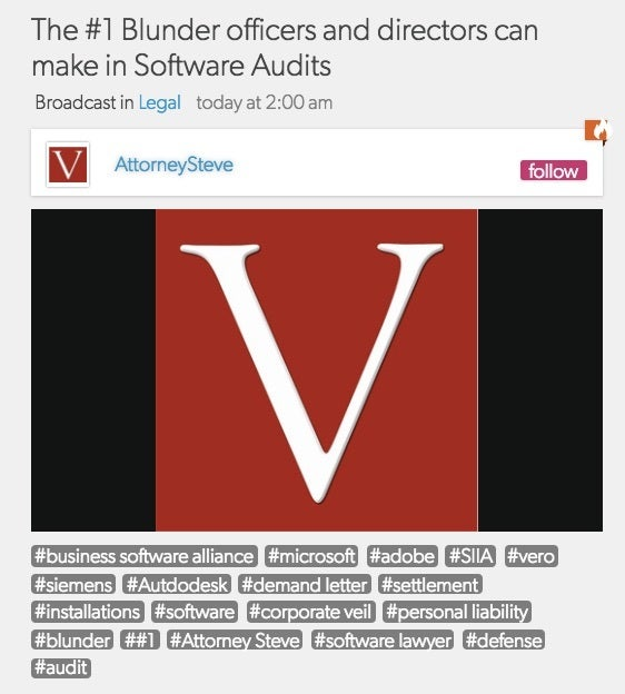 software audit blunders podcast