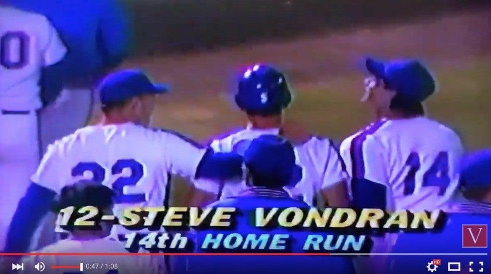 longest college baseball homerun