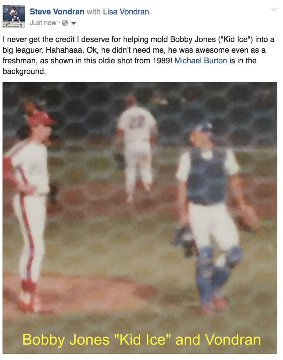Bobby Jones baseball story