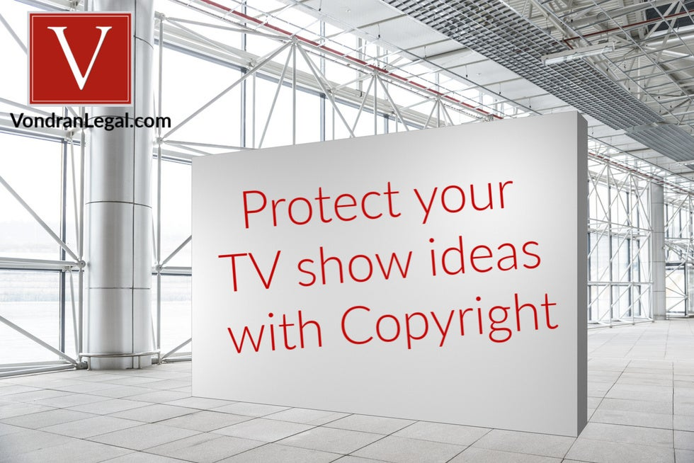 copyright protection for reality TV show script