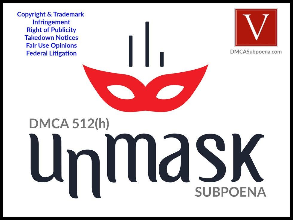 California DMCA subpoena attorney