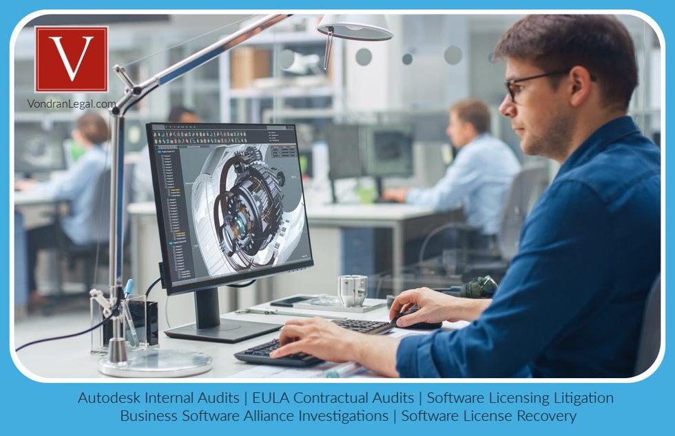 Software audit demand letter BSA Autodesk