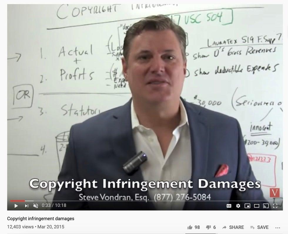 software infringement settlements