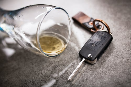 Drunk Driving Keys Alcohol