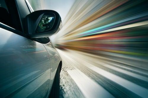 Car Speed Light Beams
