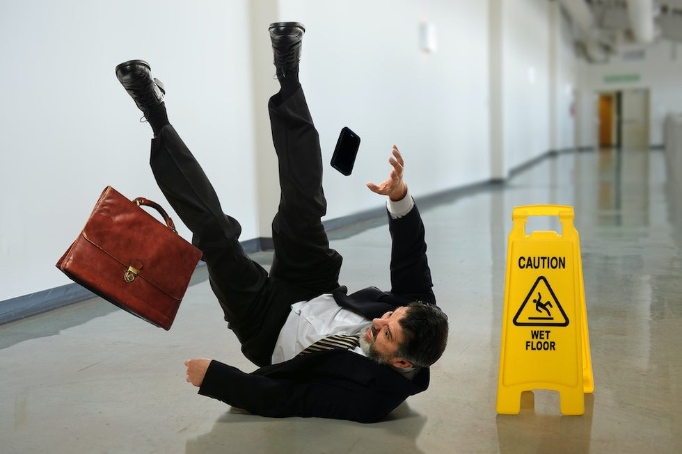 Slip-And-Fall Accident