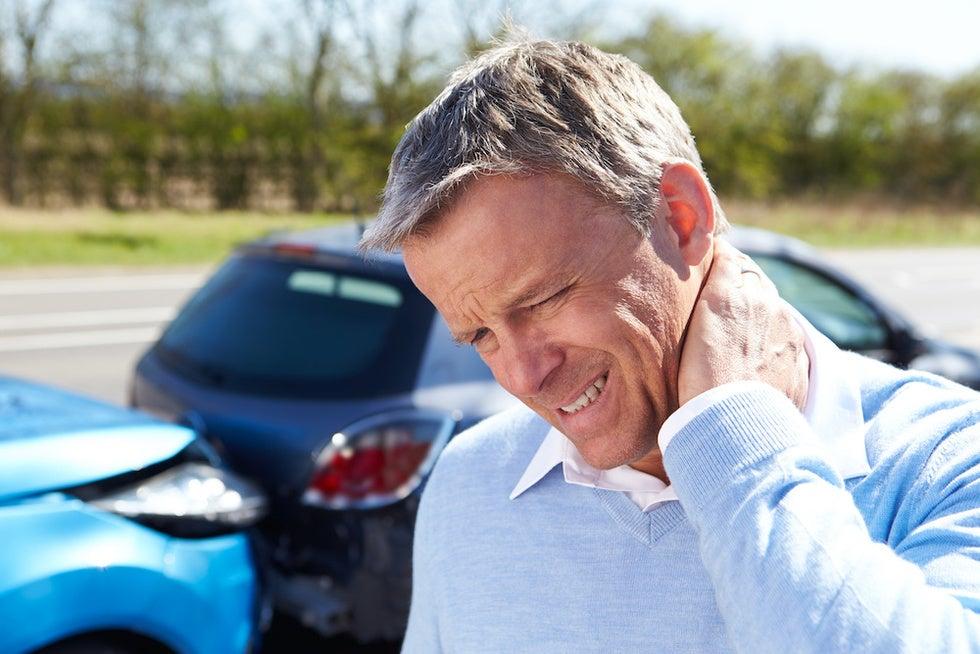 Whiplash car crash coronavirus