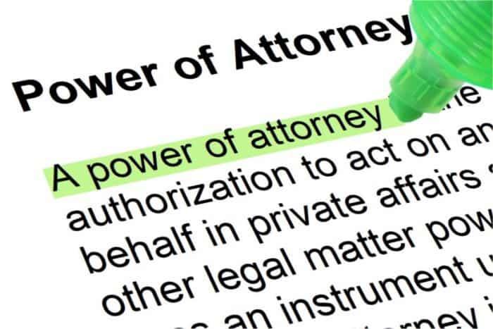 power of attorney in Georgia