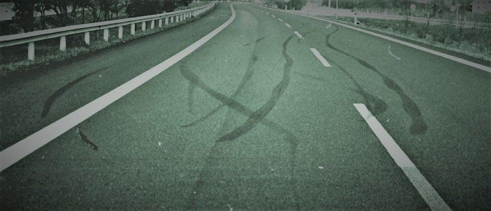 accident reconstruction via skid marks