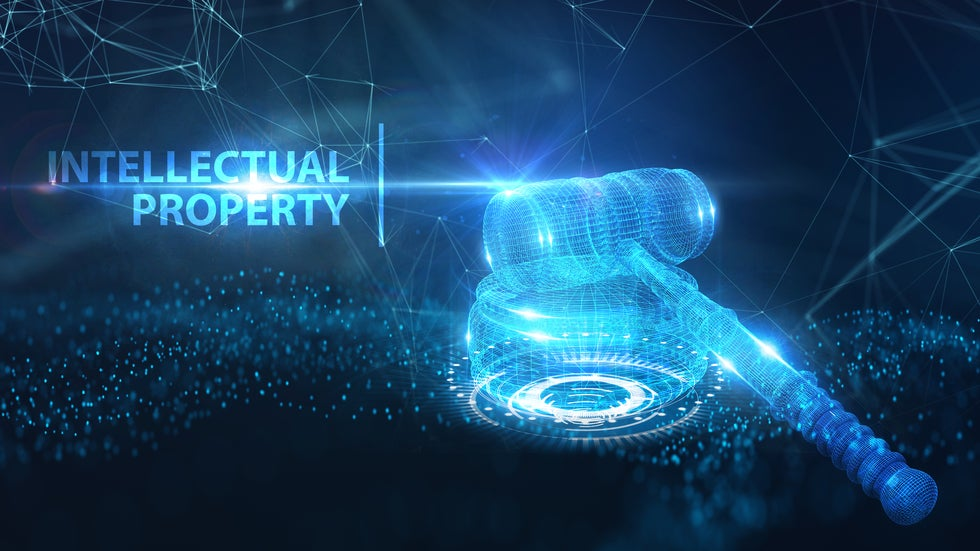 Intellectual Property representing trademarks copyrights patents for tech artists musicians NFTs crypto