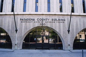 Pasadena Court Criminal Defense Attorney