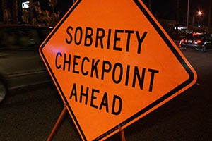 Sobriety Checkpoints in California