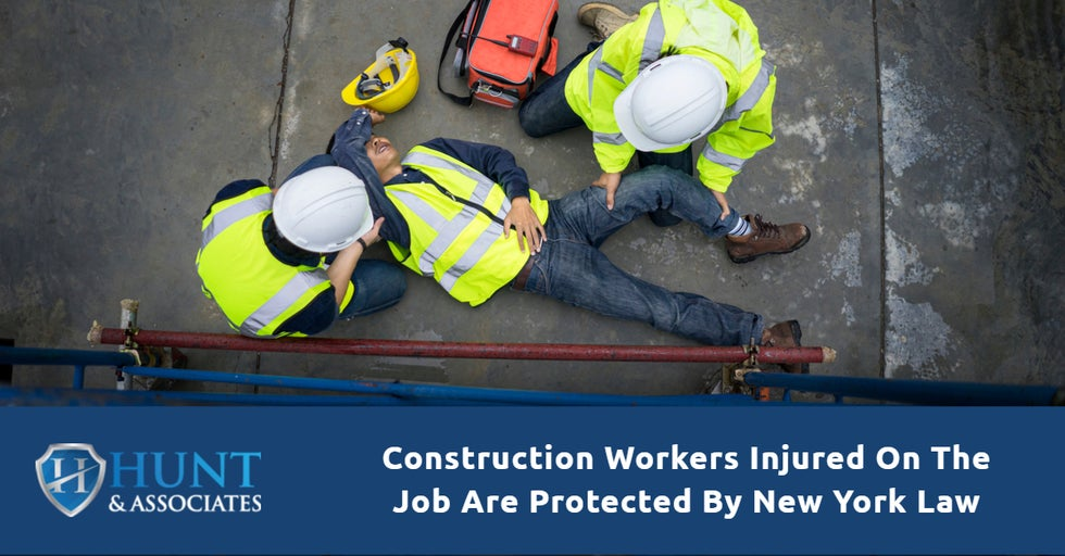 Construction Workers Injured On The Job Are Protected By New York Law
