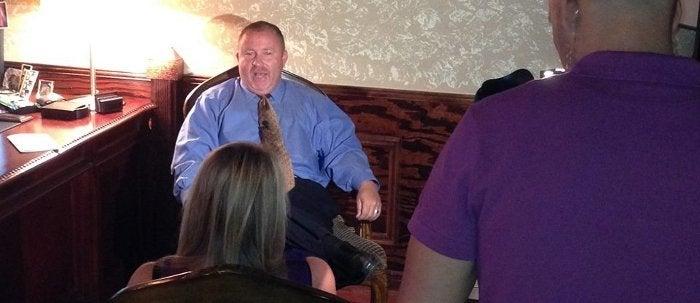 Scot interviewed