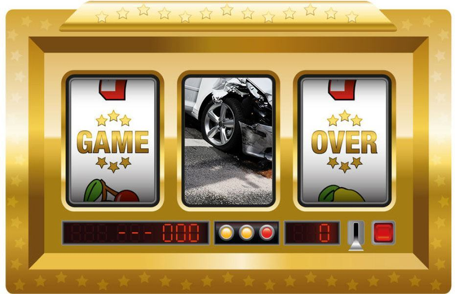 Driving is a gamble