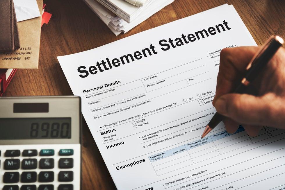 person receiving fair work injury settlement