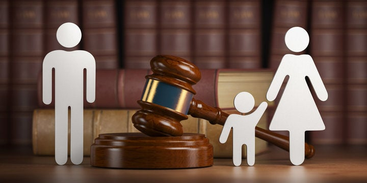 Child Custody Image of Parents Fighting for Child During DIvorce