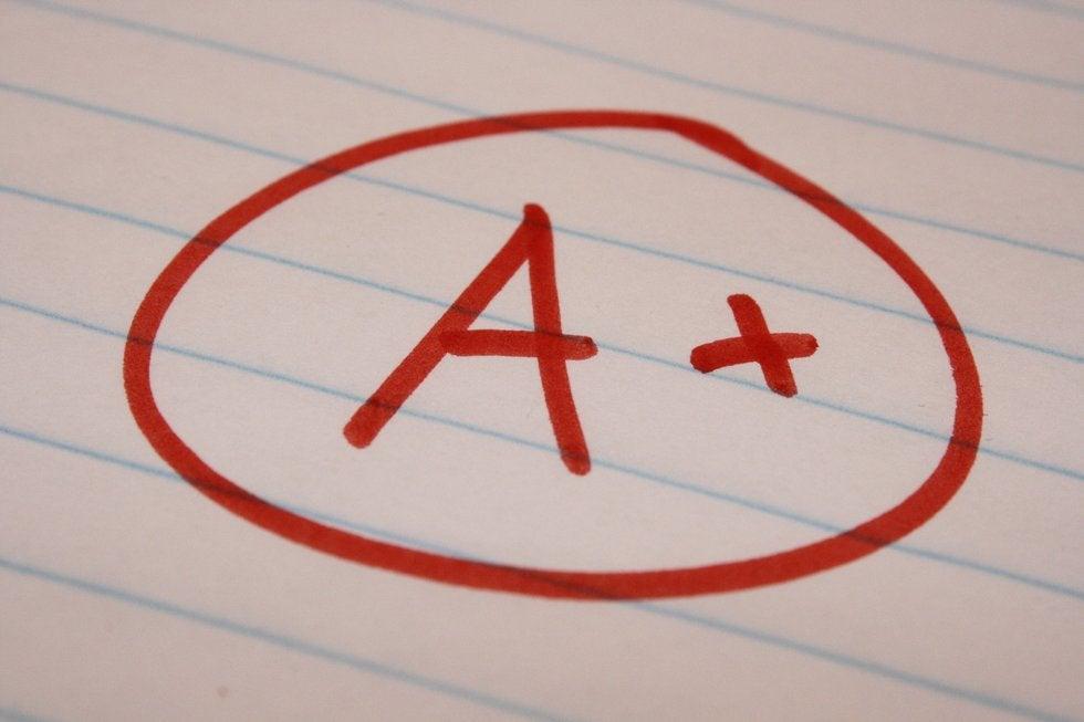 a-plus-school-letter-grade