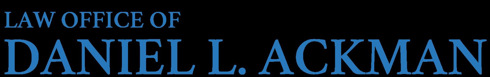 Law Office of Daniel L. Ackman