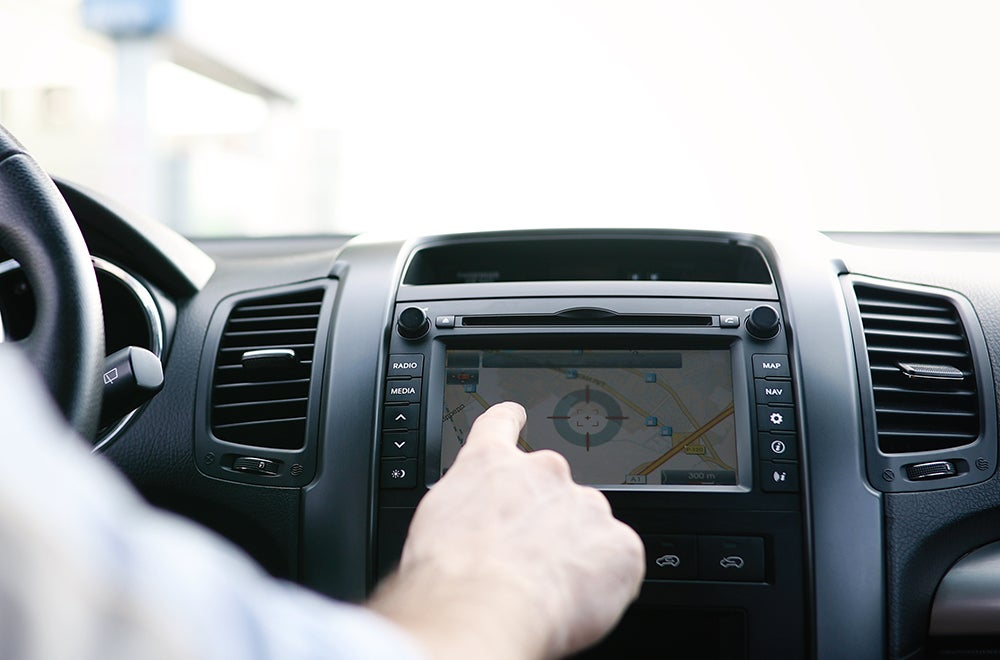 infotainment centers cause distracted driving