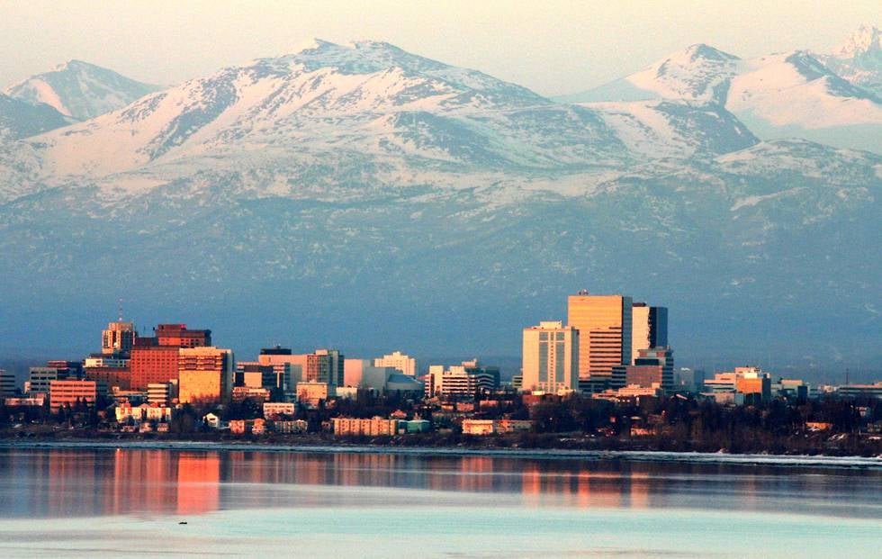 Anchorage Alaska Images Downtown
