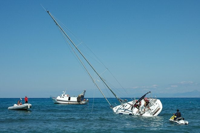 Boating Accident in Alaska Image