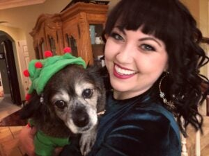 Bernadette and Lola the Wonder Dog