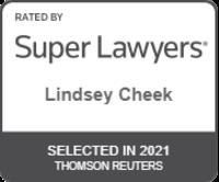 Super Lawyers Lindsey Cheek